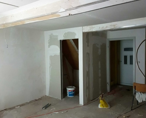 Innenrenovierung - Trockenbau