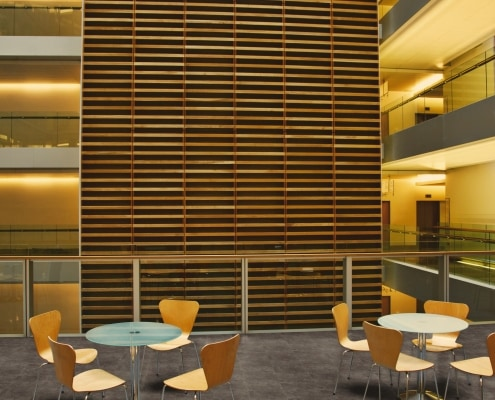 Designbelag in Bürogebäude