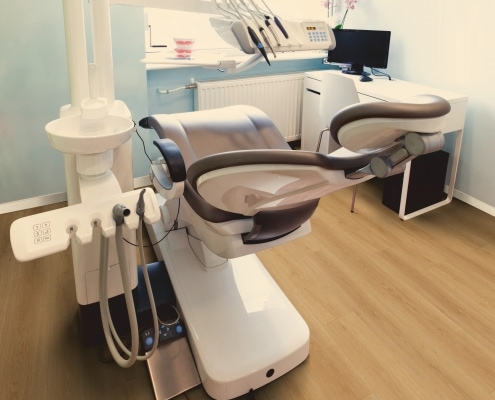 Designbelag in Zahnarztpraxis