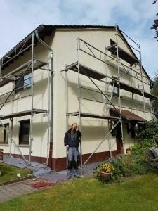 Fassadenrenovierung in Schlitz