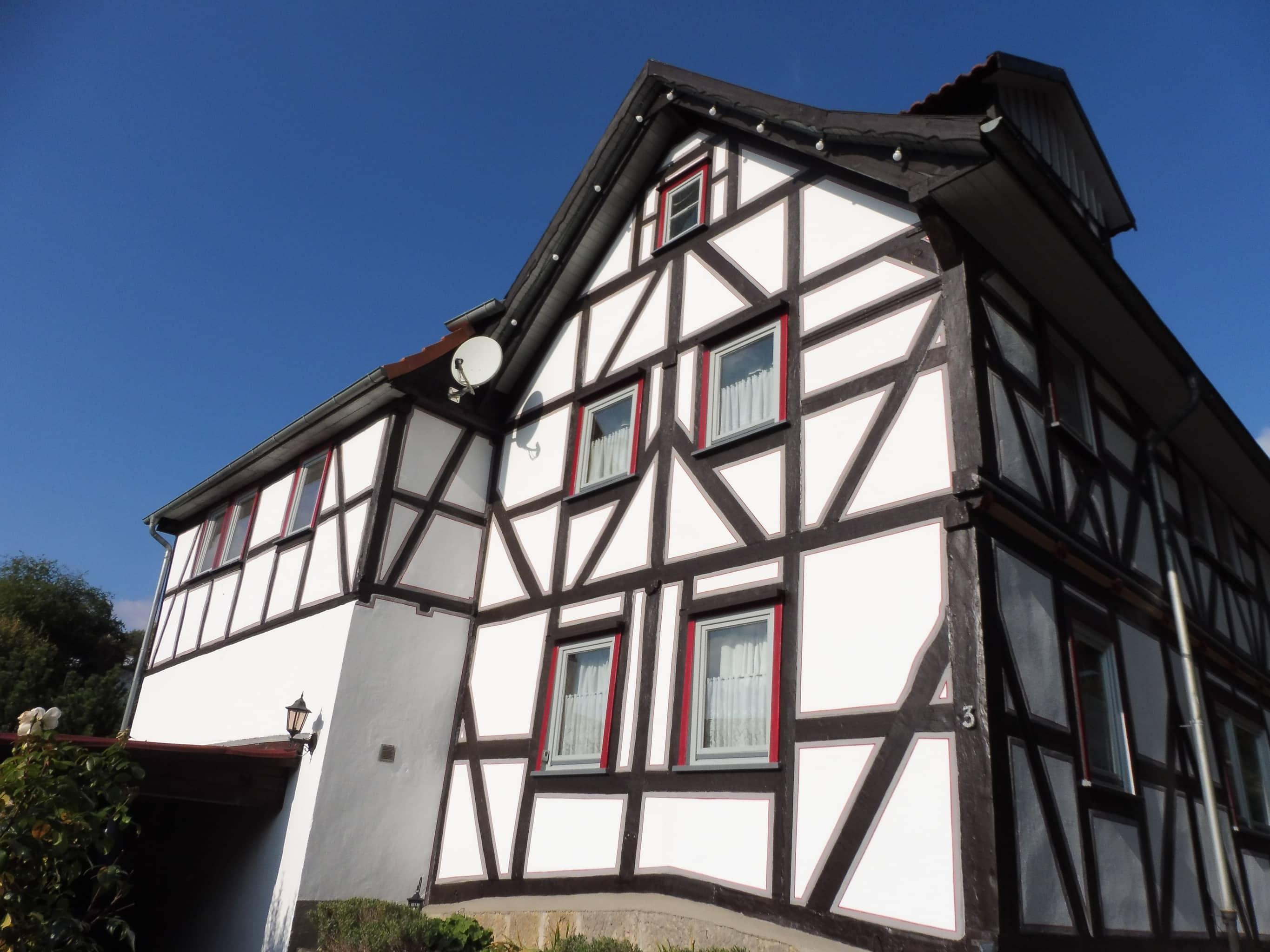 Renoviertes Fachwerkhaus