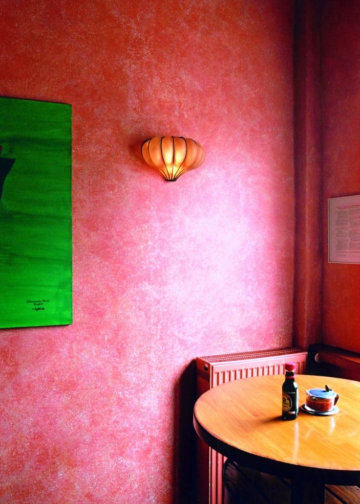 Kreative Lasur in Pink - Quelle Caparol