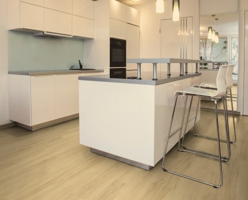 Designbelag in Küche
