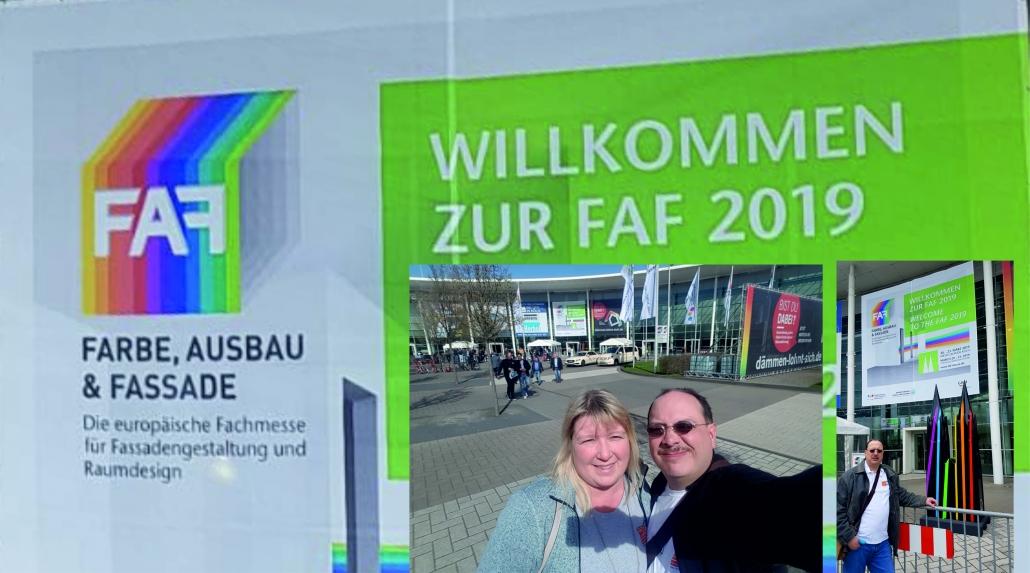 Die Maler-Engel auf der FAF 2019 in Köln