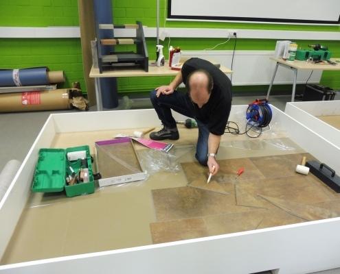 Unser Fußbodenexperte probiert aus