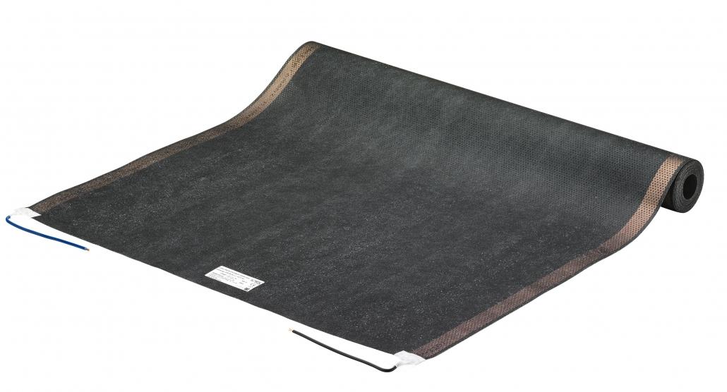 Superdünn, schafft aber mollige Wärme: die Lofec Flächenheizung - Quelle: Lofec GmbH